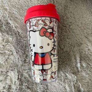♥️Sanrio Hello Kitty All Over Print Travel Tumbler